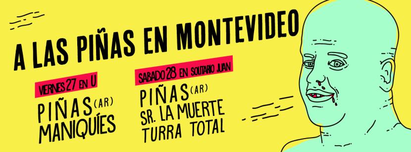 Maniquíes, Montevideo, Las Piñas, Surf Rock
